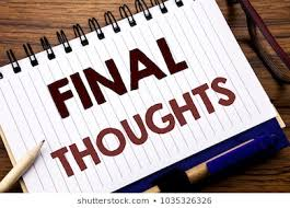 Final Thoughts Images, Stock Photos & Vectors   Shutterstock