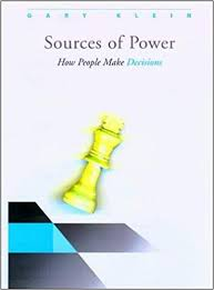 Amazon.com: Sources of Power: How People Make Decisions (8601300171654):  Klein, Gary A.: Books